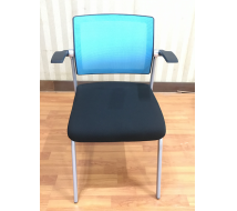 Newcity 1383C-1 Chinese Professional Manufacturer Stackable Office Meeting Room Chair And Conference Chair Colorful Training Chair High Quality Training Chair Supplier Foshan