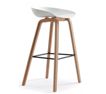 Newcity 336 Modern Luxury Bar Stool Chair Factory Supplier Solid Chair Bar Leisure Chair Coffee Shop Chair Custom Restaurant PP Chair Chinese Wholesale Foshan
