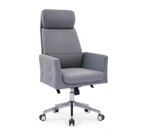 Newcity 6675A Hot Sale Reclining Adjustable Leather Office Chair New Deluxe Designs Office Chair Boss Revolving Executive Office Chair Chinese Foshan