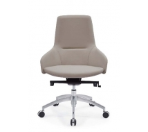 Newcity 6683B Modern High-end Office Furniture Office Administrative Office Chair New Design PU Office Chair Fashionable Middle Back Chinese Foshan Supplier