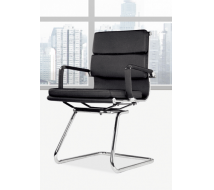 Newcity 696C Foshan Factory Cheap Conference Room Visitor Chair Bow Office Visitor Chair Professional Manufactur Staff Visitor Chair Stylish Bottom Visitor Chair Chinese Supplier