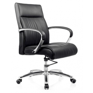 Newcity 6566B Economic Swivel Office Chair Airplane Mechanism Office Chair  Tilt & Lock Mechanism Aluminium Armrest Mesh Chair Middle Back Staff Chair BIFMA Standard Nylon Castor Supplier Foshan China