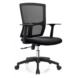 Newcity 1206B Comfortable Mesh Chair Economic Office Chair Swivel Mesh Chair Tilt & Lock Mechanism Middle Back Staff Chair Original Foam BIFMA Standard Nylon Castor Supplier Foshan China