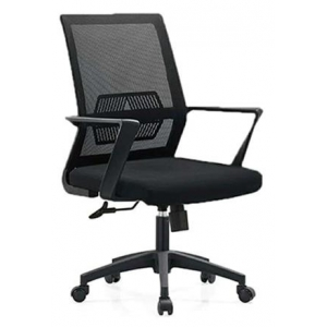 Newcity 1249B Economic Office Chair Swivel Mesh Chair Tilt & Lock Mechanism Middle Back Staff Chair 45kgs Original Foam BIFMA Standard 50mm Nylon Castor Supplier Foshan China