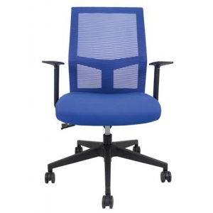 Newcity 1358B Economic Commercial Mesh Chair Swivel Mesh Chair Fixed Mechanism Middle Back Staff Chair BIFMA Standard Nylon Castor Supplier Foshan China