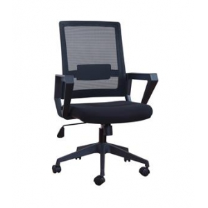 Newcity 1361B Economic Swivel Mesh Chair Director's Mesh Chair Tilt & Lock Mechanism Middle Back Staff Chair BIFMA Standard Nylon Castor Supplier Foshan China