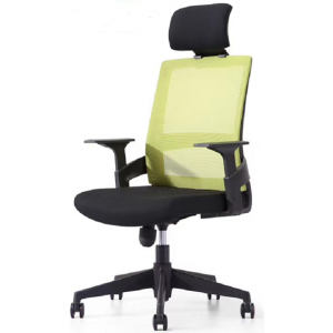 Newcity 1372A Fashion Mesh Office Chair With Headrest Ergonomic Swivel Managerial Chair High Quality Functional Adjustable Conference Mesh Chair Supplier Foshan China