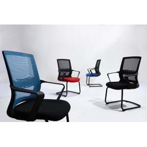 Newcity 1373C Economic Office Chair Mesh Chair WorkWell Visitor Office Mesh Chair Low Back Staff Chair Original Foam Supplier Foshan China