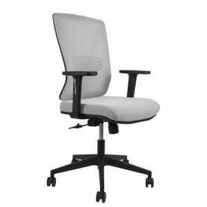 Newcity 1375B Economic Office Chair Swivel Mesh Chair Tilt & Lock Mechanism Middle Back Staff Chair Original Foam BIFMA Standard 50mm Nylon Castor Mesh Chair Supplier Foshan China