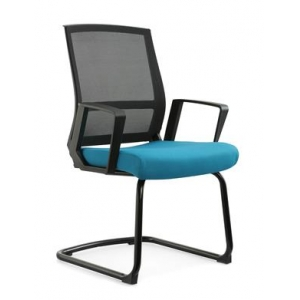 Newcity 1377C Economic Office Chair Mesh Chair Commercial Mesh Chair Visitor Mesh Chair Middle Back Staff Chair Moulded Foam Supplier Foshan China