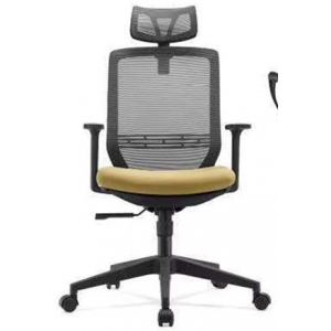 Newcity 1378A Economic Swivel Mesh Chair Commercial Mesh Chair Tilt & Lock Mechanism High Back Manager Chair 45kgs Original Foam BIFMA Standard Nylon Castor Supplier Foshan China