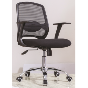Newcity 1388B Economic Swivel Mesh Chair 12mm Plywood Seat Mesh Chair Executive Chair Middle Back Staff Chair BIFMA Standard Chinese Supplier Foshan