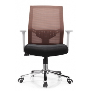 Newcity 1396B High Quality Ergonomic Mesh Chair Swivel Mesh Chair Middle Back Manager Executive Mesh Chair Modern Computer Mesh Chair Nylon Castor Mesh Chair Foshan China