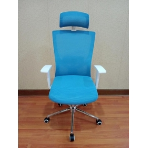 Newcity 1426A Made In China High Class Fabric Mesh Chair Adjustable Headrest Mesh Chair Luxury Modern Swivel Office Chair Supplier Foshan China