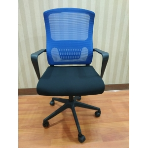 Newcity 1427B Professional Manufacture Staff Mesh Chair Fixed Arm Mesh Chair Workstation Cheap Price Staff Mesh Chair Ergonomic Mesh Chair Chinese Supplier Foshan