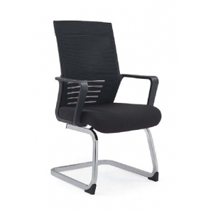 Newcity 1429C Employee Staff Visitor Mesh Chair Comfortable Conference Room Chair Ergonomic Executive Manufacture Visitor Chair Chinese Supplier Foshan
