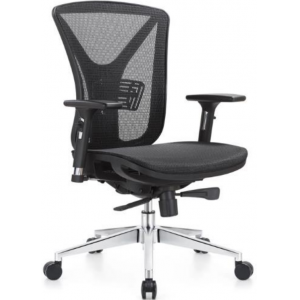 Newcity 1523B  Nylon Frame Mesh Chair Special Office Chair 330mm Aluminium Base Mesh Chair CEO Luxury Executive Ergonomic Mesh Chair Chinese Foshan