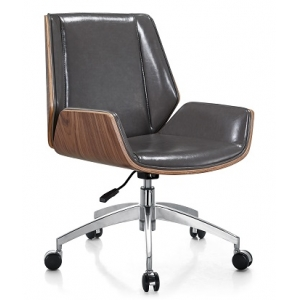 Newcity 323 Modern Fashion Design Office Furniture Comfortable Executive Office Chair Computer Office Chair Plywood Black Office Chair Supply Foshan China