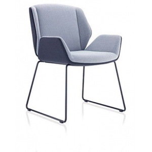 Newcity 323C Fabric Dining Chair Modern Design Home Furniture Comfortable Hotel Furniture Chair Modern Luxury Restaurant Chair Supply Foshan China