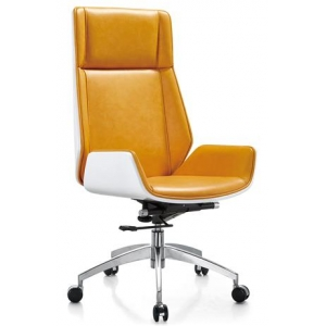 Newcity 325 Ergonomic Design Office Furniture High Back PU Leather Executive Office Chair Computer Office Chair Gaslift Office Chair Supply Foshan China
