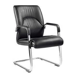 Newcity 615C Commercial Furniture Office Chair Swivel Office Chair Modern PU And Leather Office Chair Visitor Office Chair Staff Office Chair Density Foam Supplier Foshan China