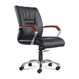 Newcity 620B Economic Swivel Office Chair Nylon Castor Office Chair  65mm Gaslift Office Chair High Back Manager Chair BIFMA Standard Nylon Castor Supplier Foshan China