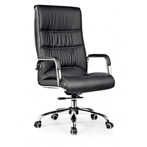 Newcity 636A Boss Swivel Office Chair Venta caliente en el mercado Silla de oficina High Back Manager Silla de oficina BIFMA Standard Nylon Castor Proveedor Foshan China