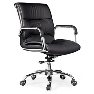 Newcity 636B Economic Swivel Office Chair Nylon Castor Office Chair Commercial Furniture Office Chair High Back Manager Chair BIFMA Standard Nylon Castor Supplier Foshan China