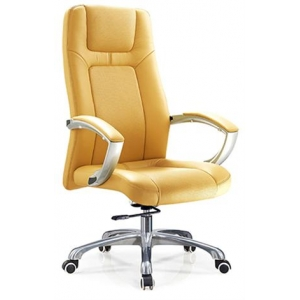 Newcity 6565 Aluminium Base Office Chair Swivel Office Chair PU Office Chair Plastic Arm Office Chair Manager Chair Density Foam BIFMA Standard Nylon Castor Supplier Foshan China