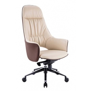 Newcity 6568A Economic Swivel Office Chair آلية الإمالة والقفل High Back Manager كرسي الكثافة رغوة BIFMA Standard Nylon Castor Supplier فوشان الصين