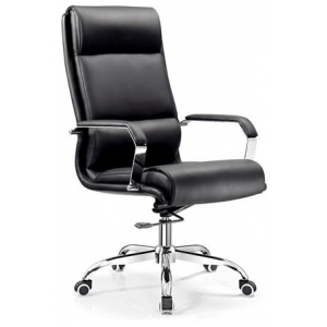 Newcity 6621A Economic Swivel Office Chair Airplane Mechanism Office Chair Gaslift Office Chair High Back Manager Chair BIFMA Standard Nylon Castor Supplier Foshan China
