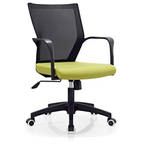 Newcity 6630A High Quality Mesh Chair Swivel Mesh Chair Tilt & Lock Mechanism Middle Back Staff Chair Moulded Foam BIFMA Standard 60mm Nylon Castor Supplier Foshan China