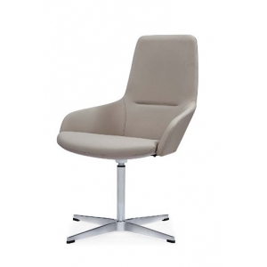 Newcity 6683C High Quality Luxury Comfortable Visitor Chair CEO High-end  Visitor Chair Moulded Foam Visitor Chair Without Wheels Office Chair Supplier Chinese Foshan