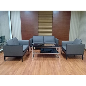 Newcity S-1039 Newest Creative Design Executive Office Sofa Smooth Surface Office Sofa  Foshan Wholesales Commercial Area Fashionable Business 1/2/3 Seats Office Sofa