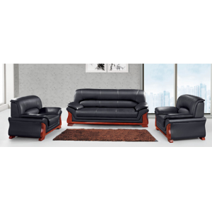 Newcity S-855 Indoor Sofa Set Living Room Office Chair Modern Unique Design Sofas Simple Wooden Office Sofa Hotel Durable Office Sofa  Chinese Foshan Supplier