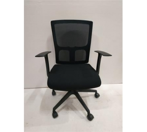 China Newcity 1206B High Quality Ergonomic Mesh Chair Swivel Mesh Chair Middle Back Manager Executive Mesh Chair Modern Computer Mesh Chair Nylon Castor Mesh Chair Foshan China factory