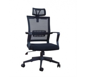 China Newcity 1360A Economic Swivel Mesh Chair Lift Chair Tilt & Lock Mechanism High Back Manager Chair Original Foam BIFMA Standard Nylon Castor Supplier Foshan China factory