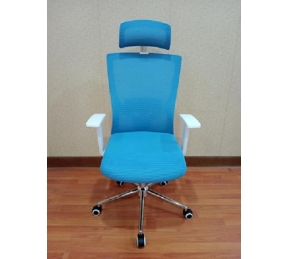 China Newcity 1426A Made In China High Class Fabric Mesh Chair Adjustable Headrest Mesh Chair Luxury Modern Swivel Office Chair Supplier Foshan China factory