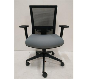 China Newcity 1513B Economic Swivel Mesh Chair Tilt & Lock Mechanism Executive Mesh Chair Nylon Mesh Chair BIFMA Standard Nylon Castor Supplier Foshan China factory