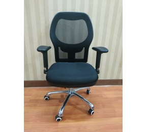 China Newcity 1522B Modern Nylon Frame Mesh Chair Ergonomic Computer  Mesh Chair Elegant Design Mesh Chair Comfortable Mesh Chair Chinese Foshan factory