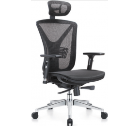 China Newcity 1523A Conference Mesh Chair Room High Quality Full Mesh Swivel Office Furniture Chair With Headrest Mesh Chair Boss Executive Ergonomic Mesh Chair Chinese Foshan factory