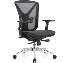 China Newcity 1523B Nylon Frame Mesh Chair Special Office Chair 330mm Base de alumínio Chair Chair CEO Executivo de luxo cadeira de malha ergonômica chinesa Foshan fábrica