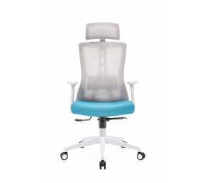 China Newcity 1528A Multifunction With Safety Lock Mechanism Mesh Chair High End Manager Mesh Chair Hot Sale Modern Mesh Chair With Headrest  Mesh Chair Foshan China factory