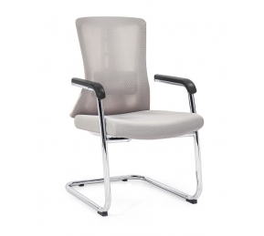 China Newcity 1528C PP Structure Mesh Chair Comfortable Meeting Room Mesh Chair Patent Mesh Chair Staff Visitor Chair Modern Design Visitor Chair Chinese Foshan factory