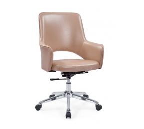 China Newcity 308-1 Modern High-end Office Furniture Hotel Chair New Design PU Office Chair Fashionable Middle Back Chinese Foshan Supplier factory