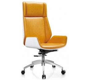 China Newcity 325 Ergonomic Design Office Furniture High Back PU Leather Executive Office Chair Computer Office Chair Gaslift Office Chair Supply Foshan China factory