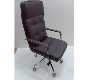 China Newcity 6657A Luxury PU Leather Office Chair Hot-selling Office Chair Fashionable Boss Offce Chair High Back Office Revolving Office Chair Supply Foshan China factory