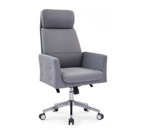 China Newcity 6675A Hot Sale Reclining Adjustable Leather Office Chair New Deluxe Designs Office Chair Boss Revolving Executive Office Chair Chinese Foshan factory