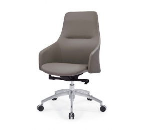 China Newcity 6682B Lounge Furniture Office Chair New Design PU Office Chair Fashionable Middle Back Office Revolving Office Chair Chinese Foshan Supplier factory