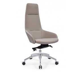 China Newcity 6683A Factory Supply Office Room Used Office Chair Computer Work Station Office Chair Leather Finish Boss Office Chair Chinese Foshan factory
